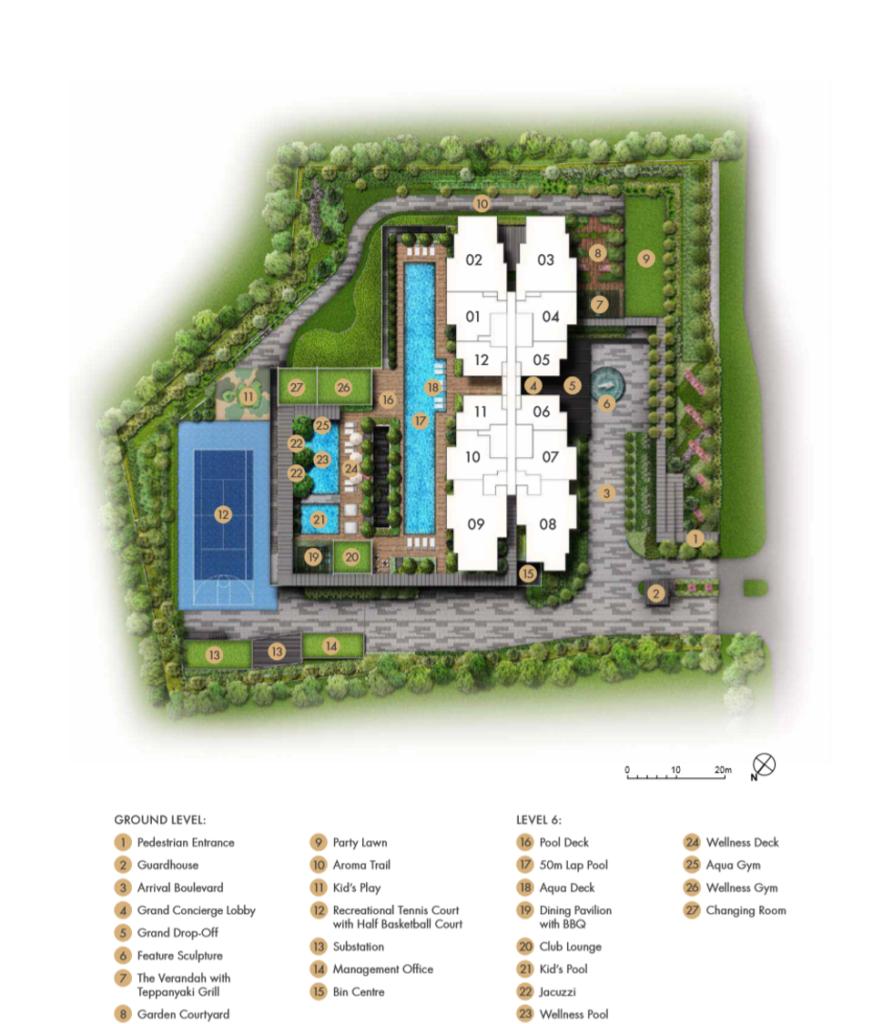 pullman residences site plan